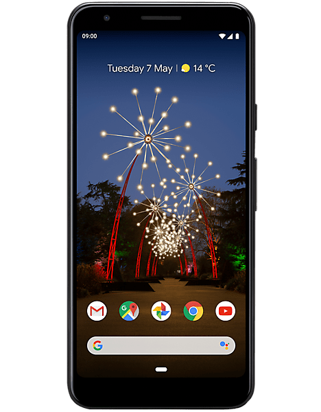 Google Pixel 3A – 500 MB on iD Mobile