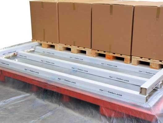 Jettainer and trilatec partner for original skids squAIR-timber