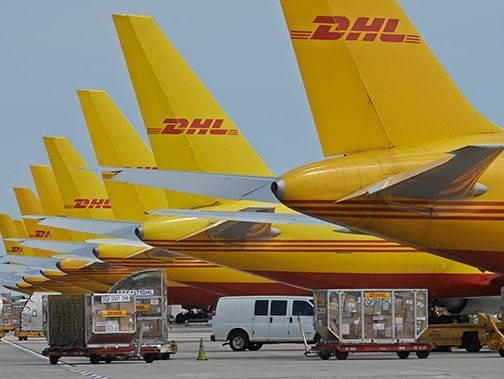 DHL recently completed upgrades at its North American distribution hub in Northern Kentucky. The company has invested more than $280 million into the operation since the new hub facility opened in 2003.