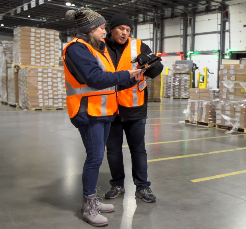 Can a Logistics Facility Stay in Sync without Spreadsheets and Radios??