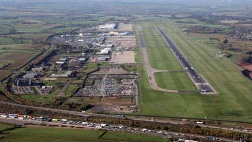 Cargo record for East Midlands Airport