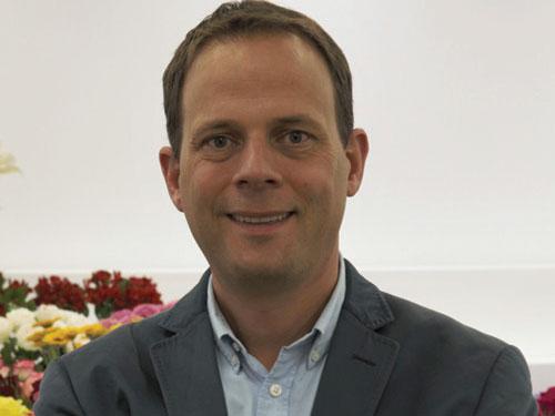 Jeroen van der Hulst, FlowerWatch's managing director