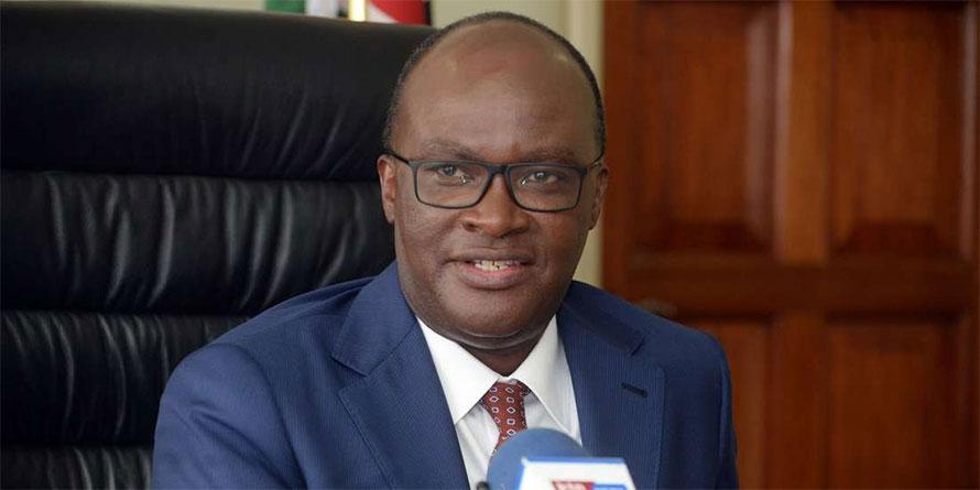 Transport Secretary James Macharia. FILE PHOTO