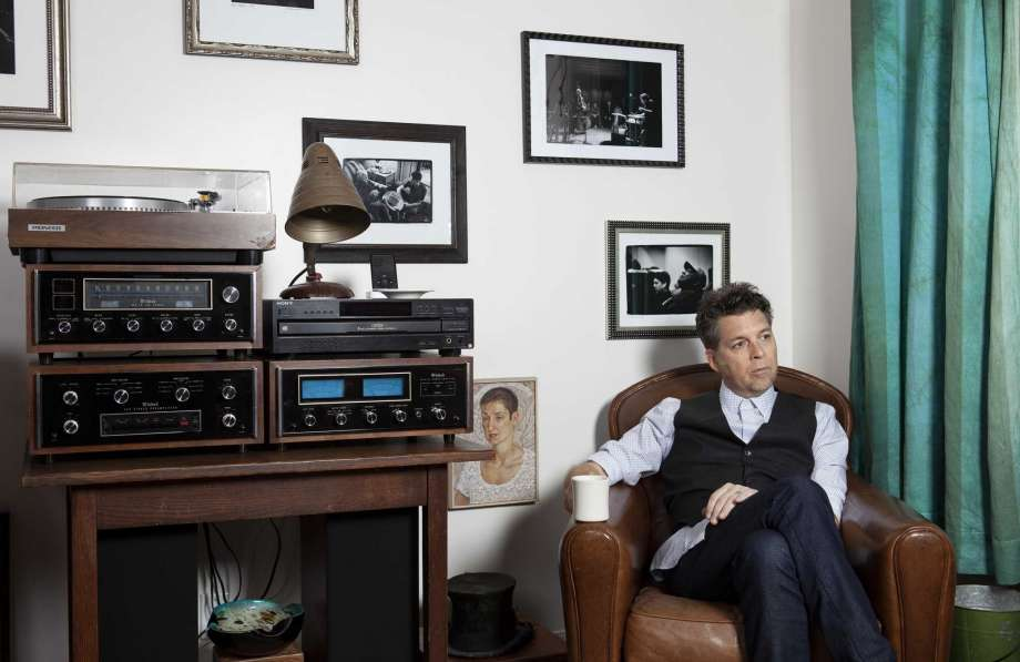"""This Nov. 8, 2019 photo shows musician Joe Henry posing for a portrait at his home in Pasadena, Calif. to promote his new album """"The Gospel According To Water."""" (Photo by Rebecca Cabage/Invision/AP) Photo: Rebecca Cabage, Rebecca Cabage/Invision/AP / 2019 Invision"""