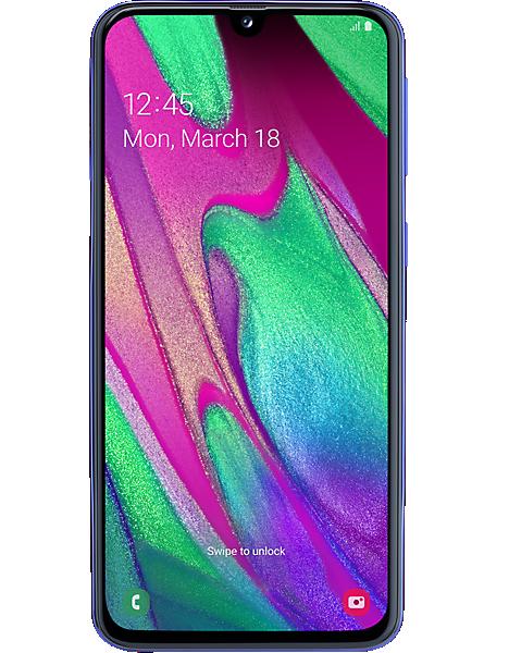 Samsung Galaxy A40 – 500 MB on iD Mobile