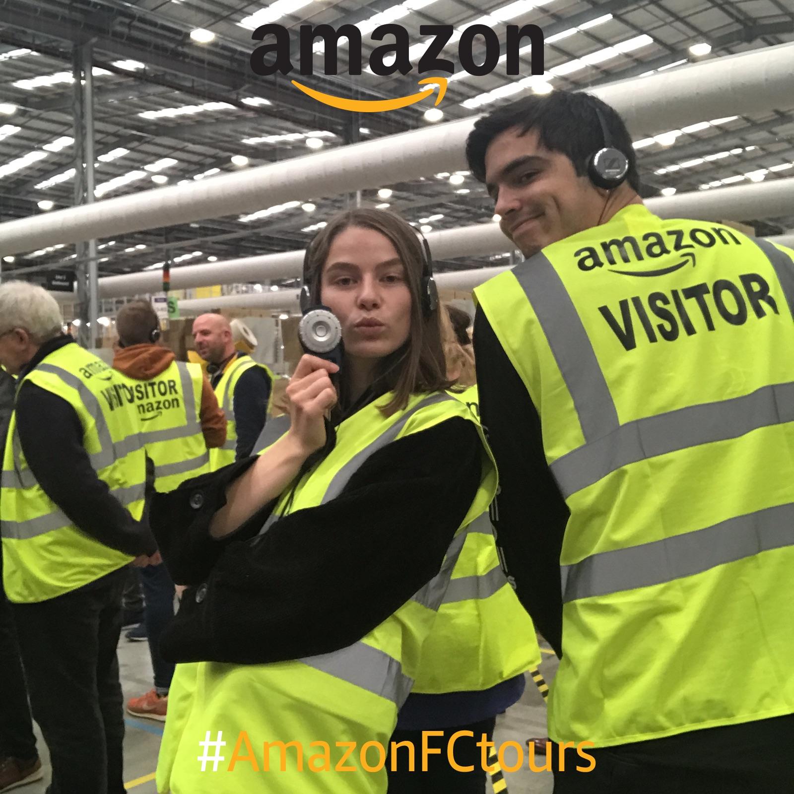 amazon warehouse tour