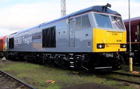 DCRail Class 60 locomotive
