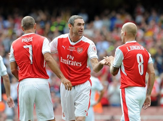Keown never saw Ljungberg as a future manager