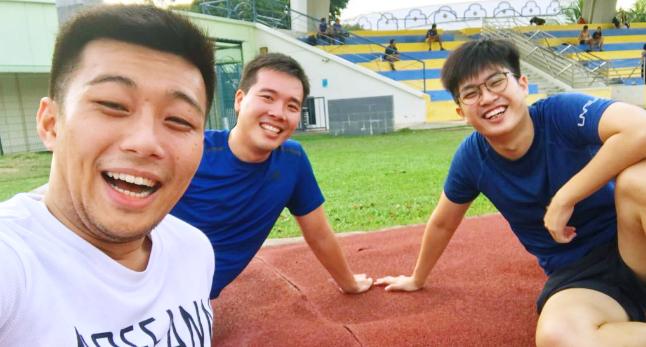 Eezee.sg founders, Jasper Yap, Logan Tan and Terence Goh