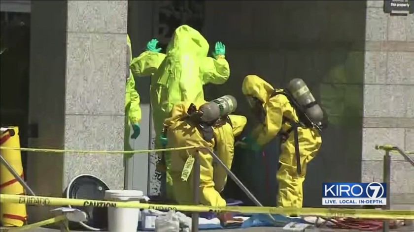 Cesium contamination in Seattle