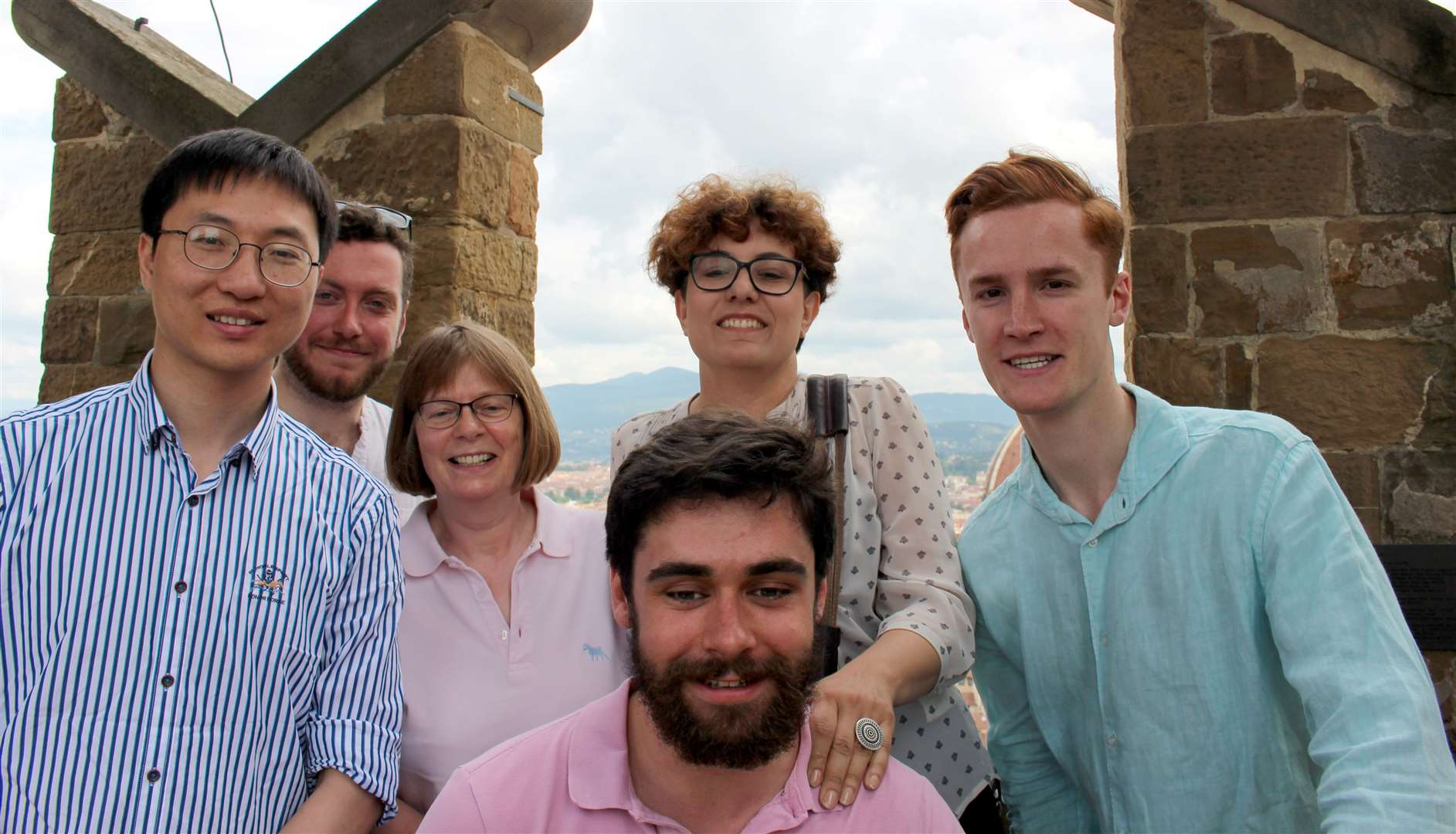 New Year Honours Professor Gladden with members of her group at the ISCRE 25 Conference on chemical reaction engineering in Florence, 2018.. (25301429)