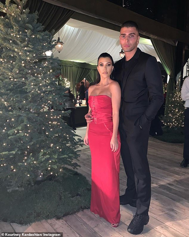 Kourtney and Younes:Kardashian made headlines when it was confirmed that she's back together with Younes Bendjima, who she had previously dated