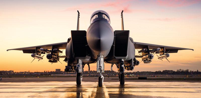 Boeing F-15 IA  photo: Boeing