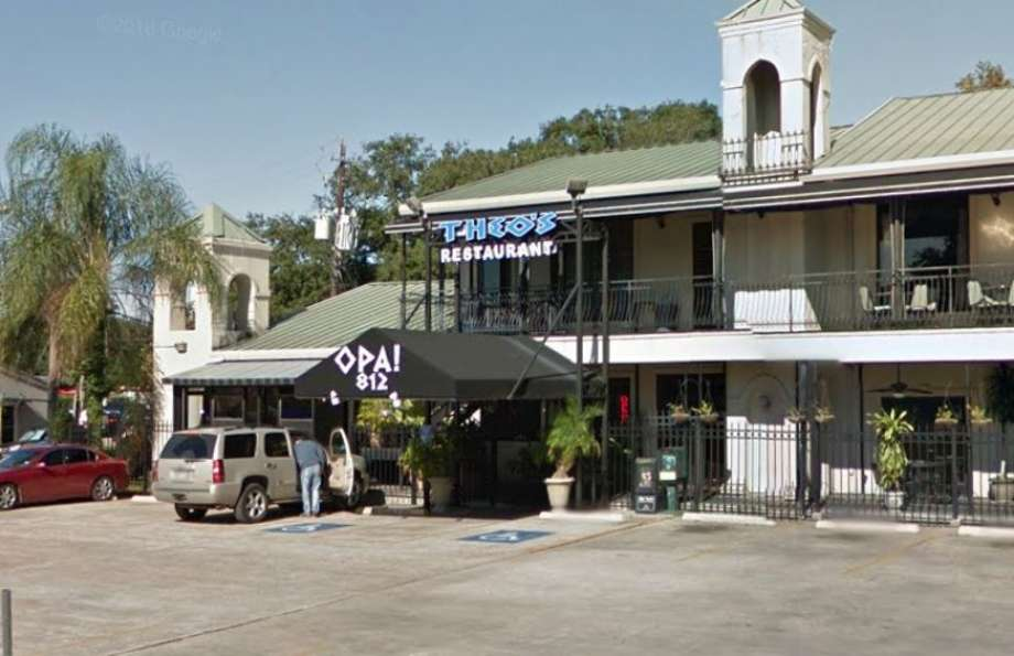 """Theo's Greek Restaurant at 812 Westheimer is owned by Ted """"Theo"""" Mousoudakis. In a restaurant auction notification, the ownership posted, """"Ted has been in business for 12 years and is closing due to demolition of the strip center for building of a highrise."""" Photo: Google Maps"""