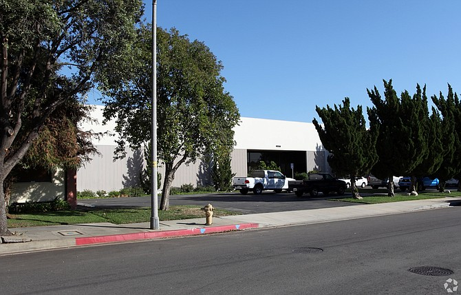 Warehouse at 9556 Cozycraft Ave. in Chatsworth.