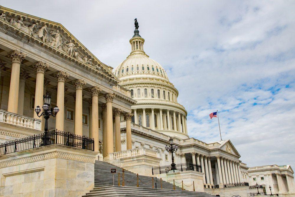 US Capitol building exterior.