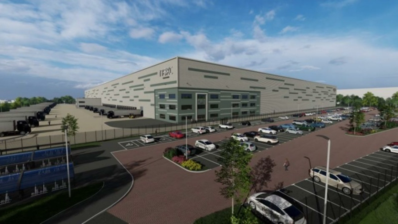 Plans lodged for £125m Next warehouse