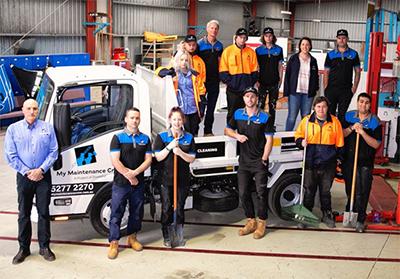 The My Maintenance Crew team