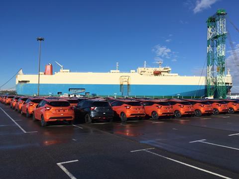 Nissan Micra, Port of Le Havre