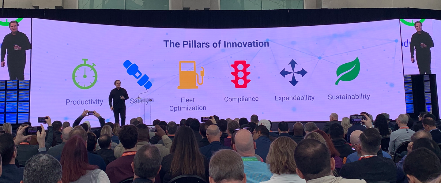 Colin Sutherland, executive vice president of sales and marketing, discusses Geotab's pillars of innovation.