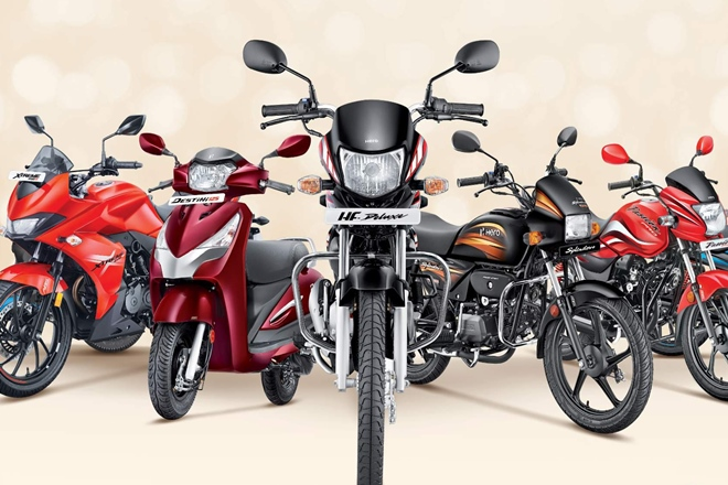 you can buy hero two wheeler in less price, january offer on hero motocorp bike and scooter