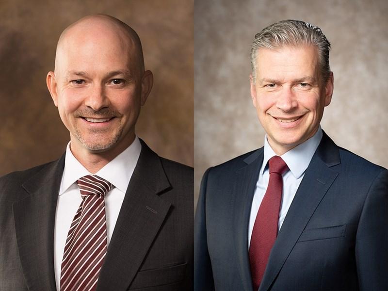Brian Fugate and Remko Van Hoek
