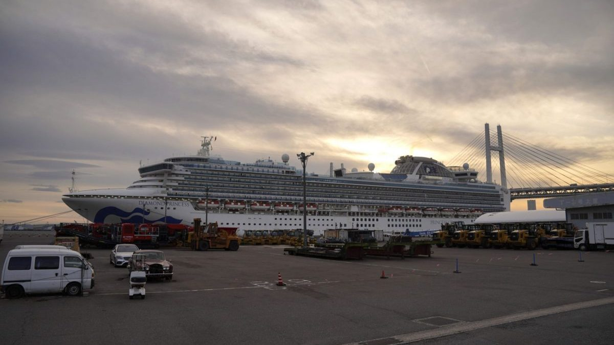 Pregnant, stuck on cruise ship — crew remain trapped at ...