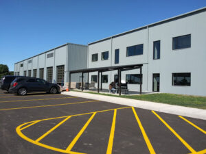 Page Trucking recently rebuilt their facilities in Weedsport following a fire in 2017. The business is a family owned and operated company with diversity in the transportation industry and the bulk handling of materials. The parent company is Keith Titus Corporation.