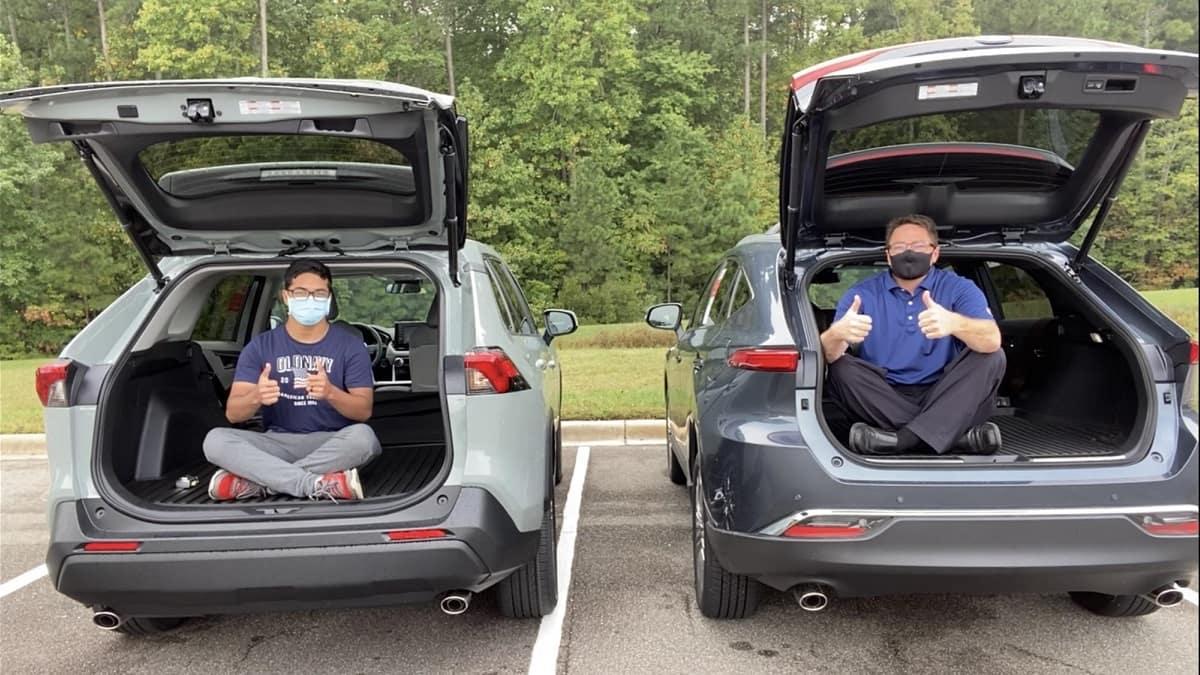 Comparing Cargo Space - 2021 Toyota RAV4 vs 2021 Venza ...