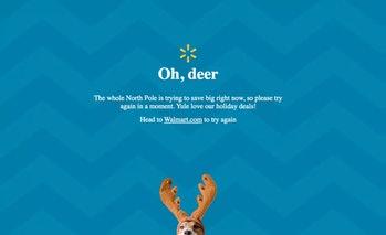 walmart oh deer error