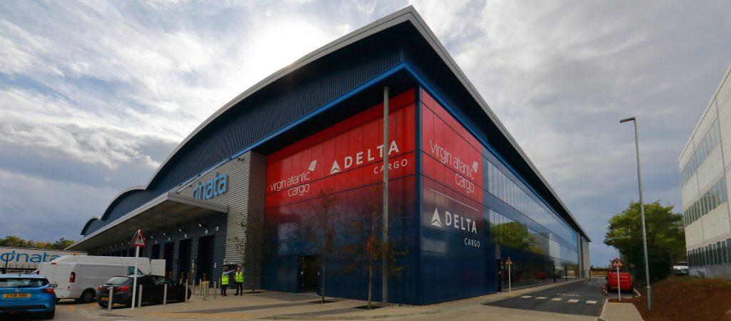 Delta and Virgin Atlantic Cargo hub at London Heathrow