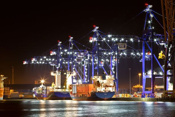 Humber Container Terminal.