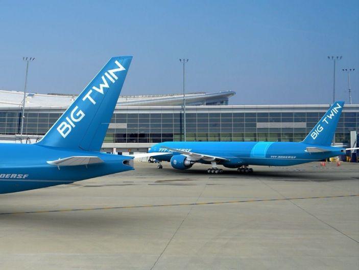 Boeing 777-300ER cargo conversion