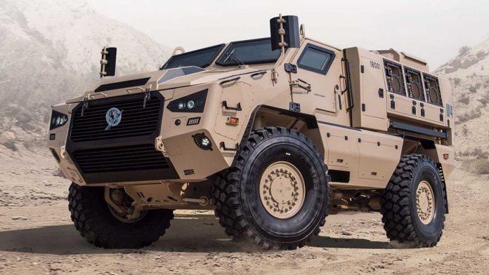 An M4 armoured vehicle   www.paramountgroup.com