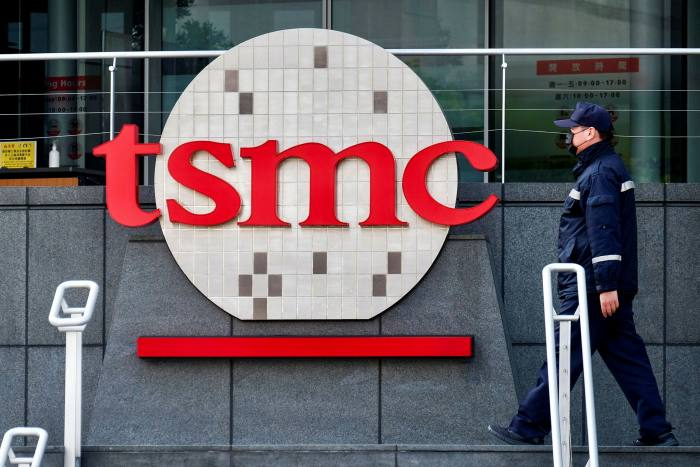 US automobile makers suffered a chip shortage as trade tensions shifted supply sources to Taiwan's TSMC